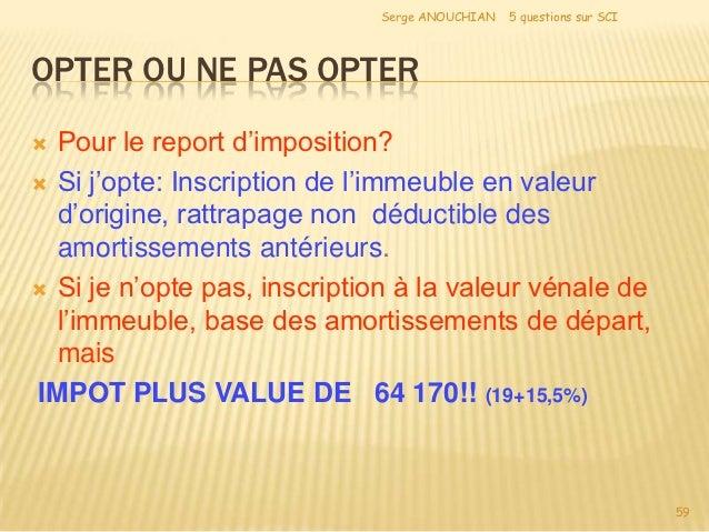 Imposition des plus values sur stock options