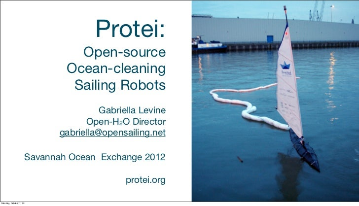 Protei:                                  Open-source                                Ocean-cleaning                        ...
