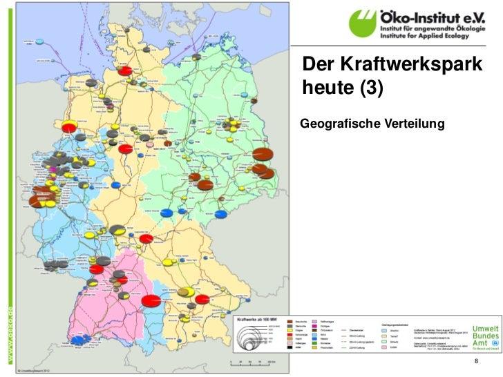 Der Kraftwerksparkheute (3)Geografische Verteilung                          8