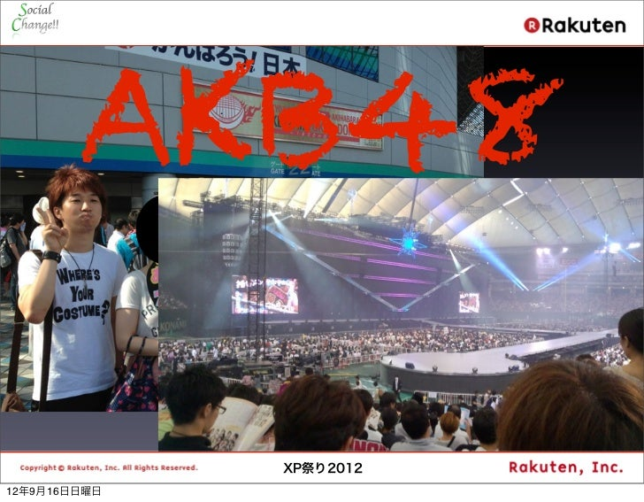 AKB48                         5              XP祭り201212年9月16日日曜日