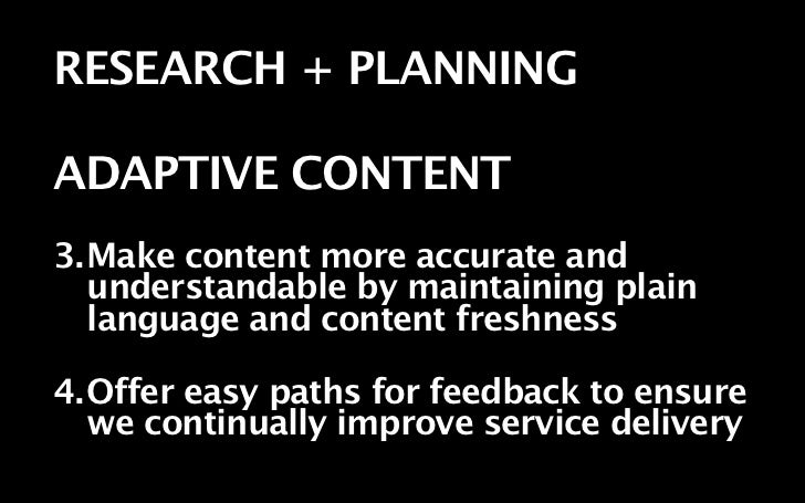 Rather than thinking primarily about the final presentation—publishing web pages, mobile applications, or brochures— gover...
