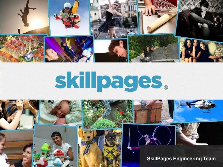Iain MacDonald                 SkillPages Engineering Team
