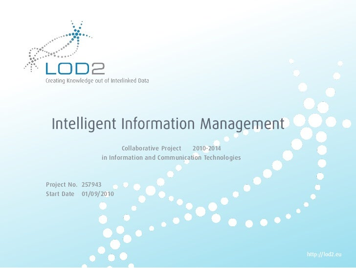 Creating Knowledge out of Interlinked Data          Intelligent Information Management                                    ...