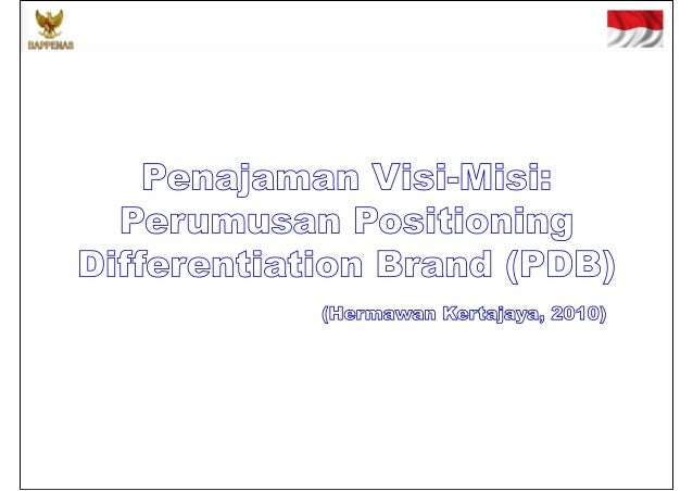 Positioning Differentiation Brand (PDB)          POSITIONING              DIFFERENTIATION                          BRAND  ...