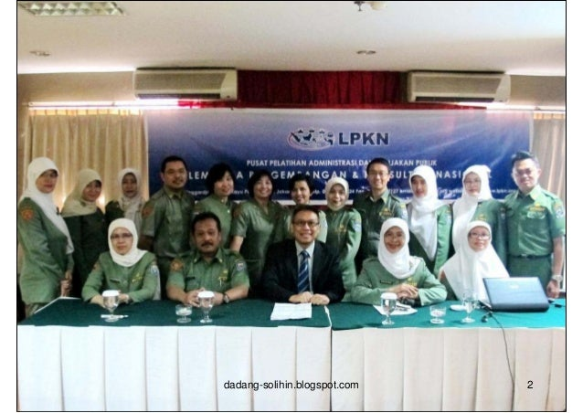 Nama               : Dr. Dadang Solihin, SE, MATempat/Tgl Lahir   : Bandung 6 November 1961Pekerjaan          : Direktur E...