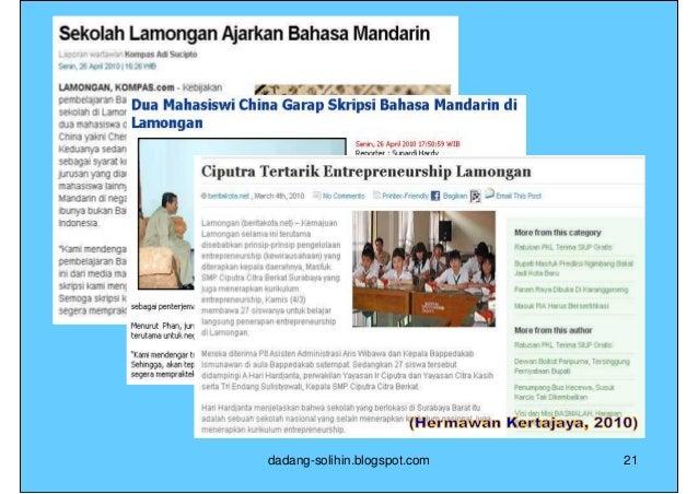 PDB Triangle: Kota Sawahlunto                          Brand Integrity  POSITIONING                               DIFFEREN...