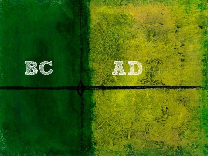 BC   AD