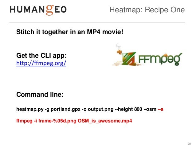 Heatmap: Recipe OneStitch it together in an MP4 movie!Get the CLI app:http://ffmpeg.org/Command line:heatmap.py -g portlan...