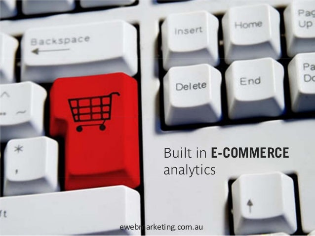Automatic connection withGOOGLE ANALYTICS                   ewebmarketing.com.au