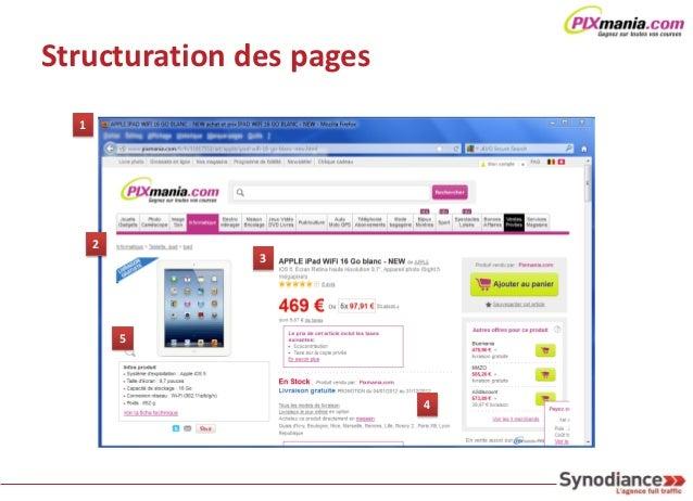 Structuration des pages