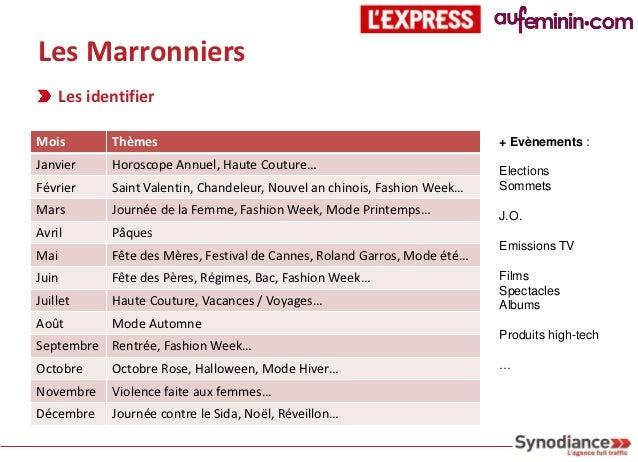 Les Marronniers  Case Study : Festival de Cannes 2011  Objectifs : être visible et générer de l'audienceAdwords           ...