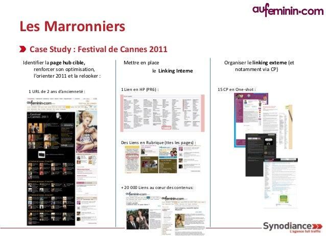 Les Marronniers Case Study : Festival de Cannes 2011