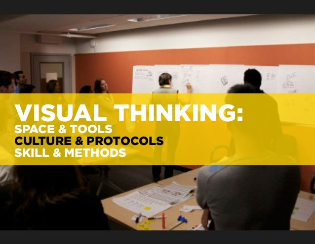 VISUAL THINKING:SPACE & TOOLSCULTURE & PROTOCOLSSKILL & METHODS