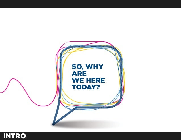 SO, WHY        ARE        WE HERE        TODAY?INTRO