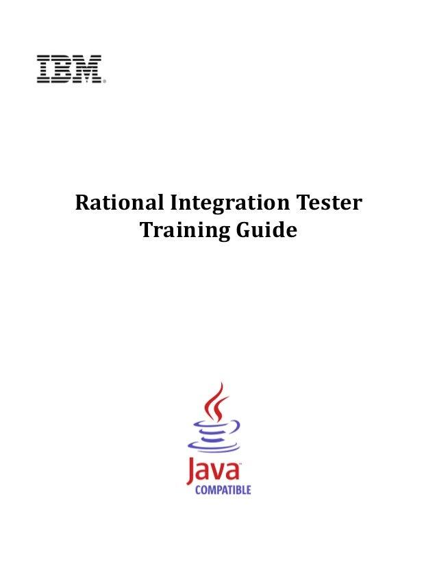 RationalIntegrationTester          TrainingGuide