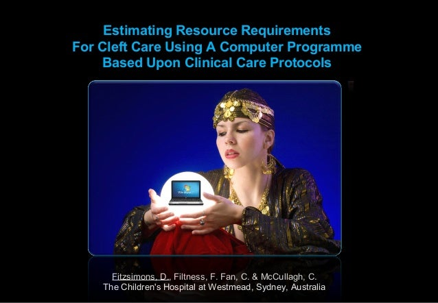 Estimating Resource Requirements Based Upon Clinical ProtocolsSMCP Palatopharyngeus Resource Requirements            Estim...