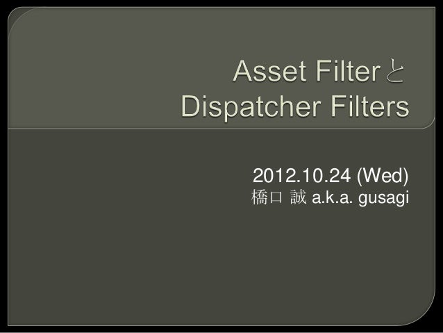2012.10.24 (Wed)橋口 誠 a.k.a. gusagi