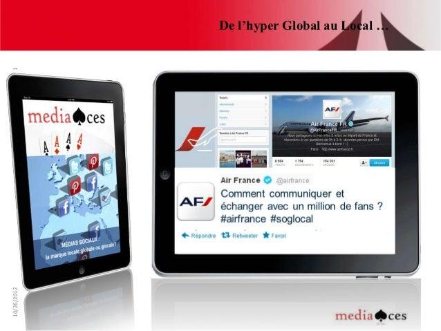 De l'hyper Global au Local …110/26/2012