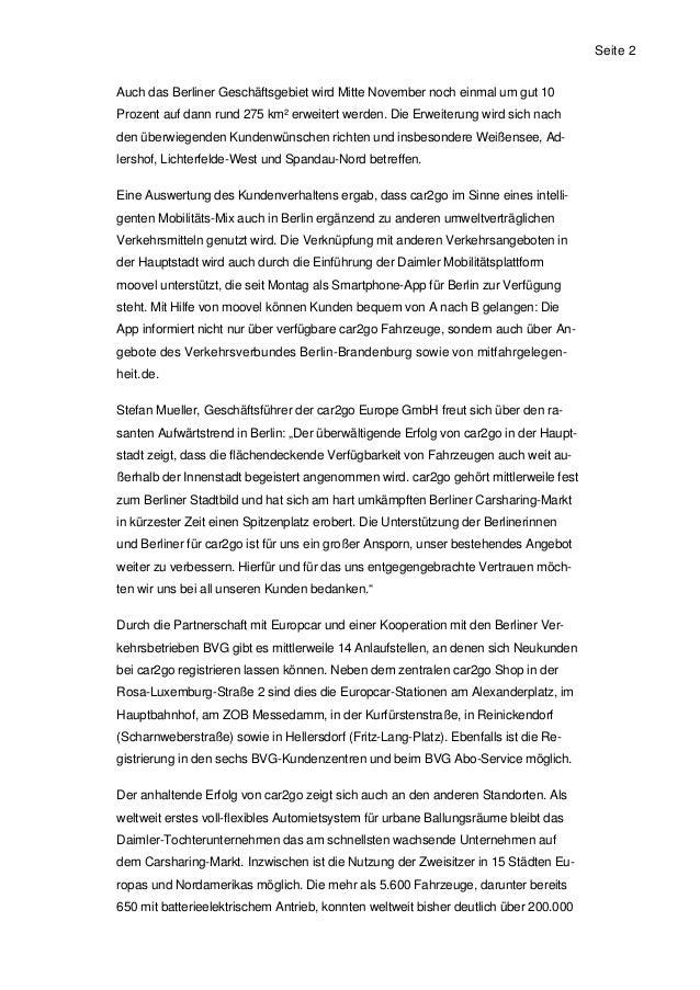 20121101 25000 car2go kunden in berlin. Black Bedroom Furniture Sets. Home Design Ideas