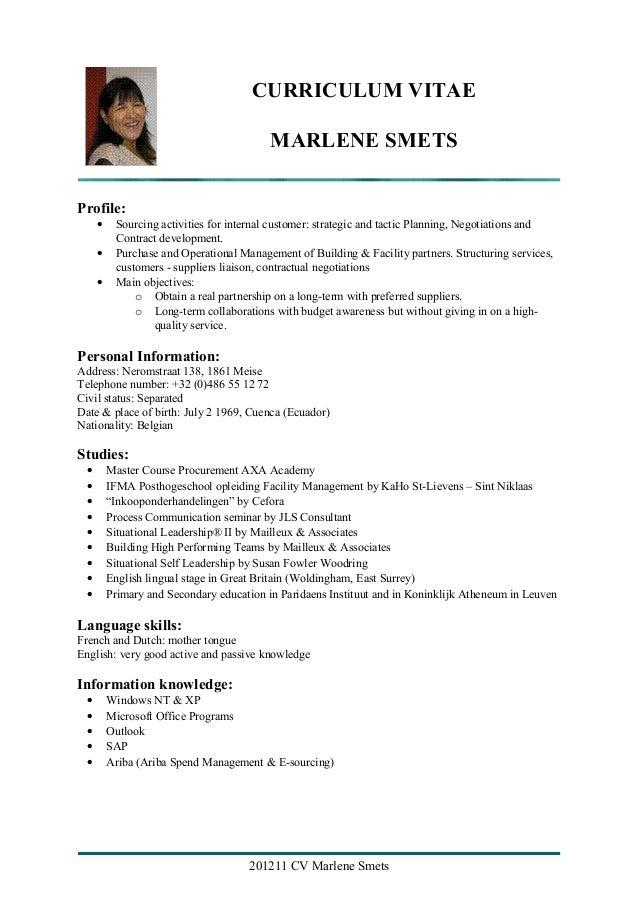 20121106 cv smets marlene