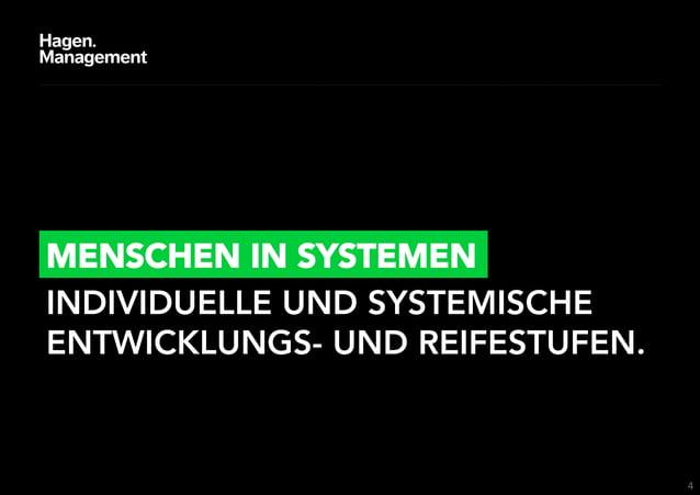 MENSCHEN IN SYSTEMENINDIVIDUELLE UND SYSTEMISCHEENTWICKLUNGS- UND REIFESTUFEN.                                  4