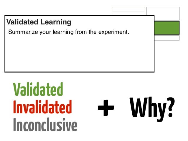 Next ActionWhat's the next experiment? What will you do next based on your learning?