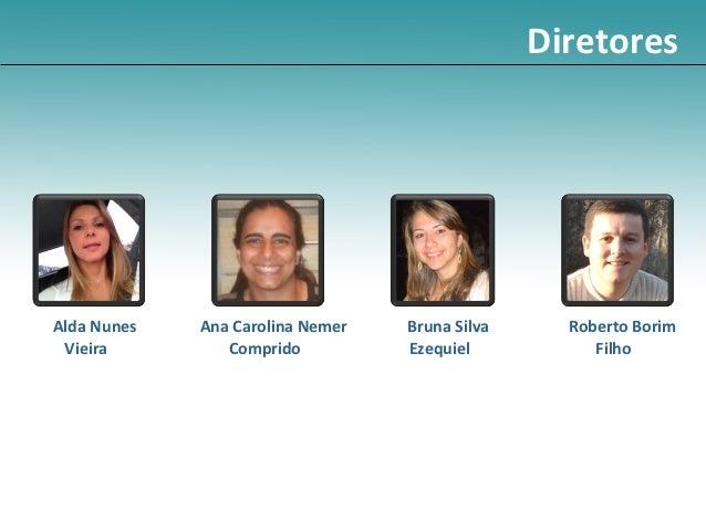 DiretoresAlda Nunes   Ana Carolina Nemer   Bruna Silva     Roberto Borim Vieira         Comprido          Ezequiel        ...