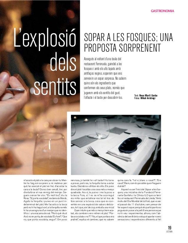 GASTRONOMIAL'explosió                                                      SOPAR A LES FOSQUES; UNA                       ...