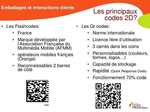 Emballages et interactions clients                                           Les principaux                               ...
