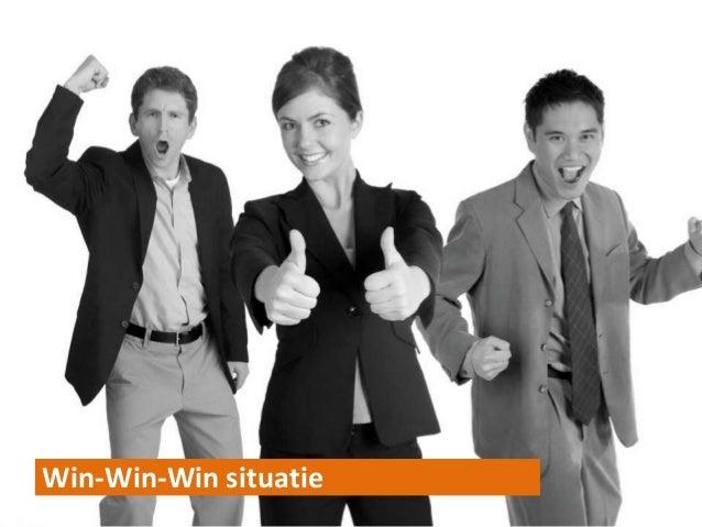 Win-Win-Win situatie11/27/20   © ORANGEVALLEY   1212
