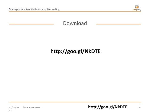 Managen van Kwaliteitsscores > Nulmeting                                           Download                               ...