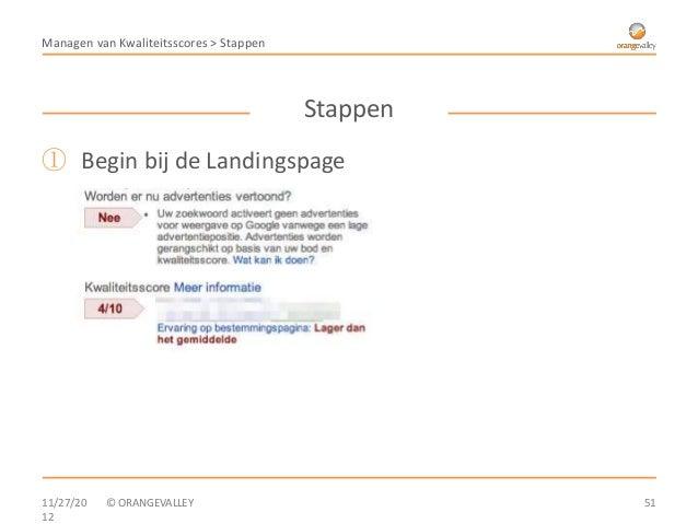 Managen van Kwaliteitsscores > Stappen                                         Stappen① Begin bij de Landingspage11/27/20 ...