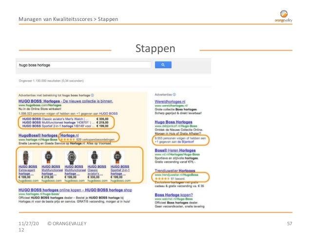 Managen van Kwaliteitsscores > Stappen                                         Stappen⑦ Extensies• Locatie-extensies• Opro...