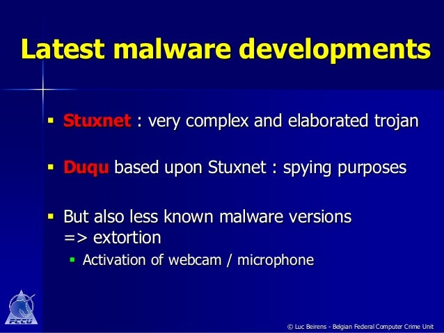 developments in hacking, cybercrime, and malware essay
