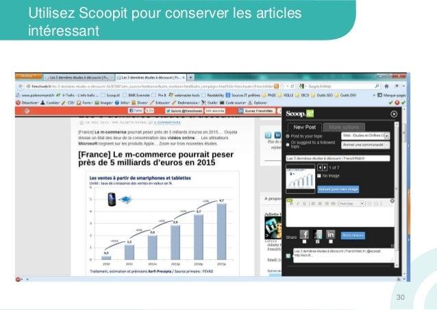 Utilisez Scoopit pour conserver les articlesintéressant30