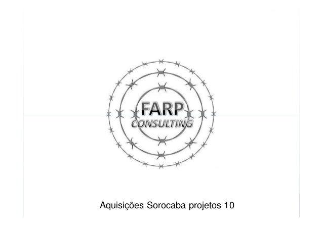 Aquisições Sorocaba projetos 10