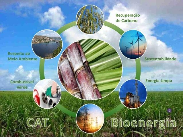 Sustentabilidade Respeito ao Meio Ambiente Energia LimpaCombustível Verde Recuperação de Carbono 2