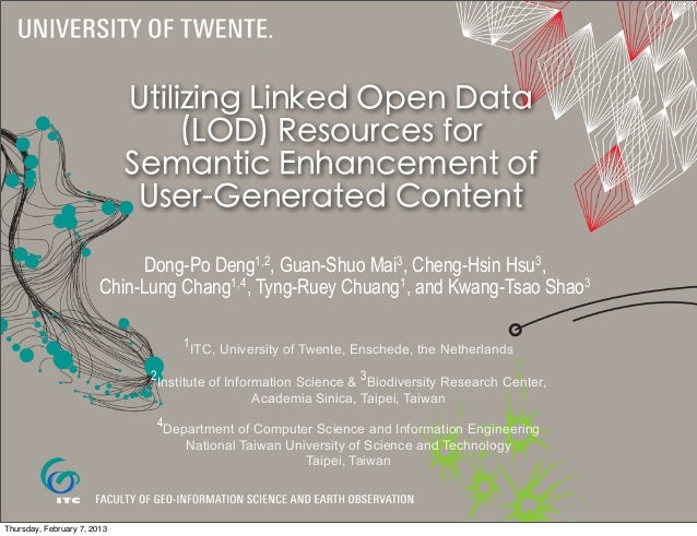 Utilizing Linked Open Data                                  (LOD) Resources for                             Semantic Enhan...