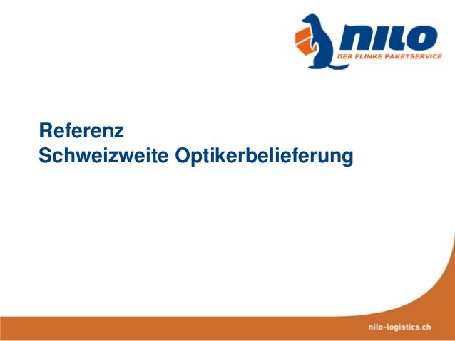 Referenz Schweizweite Optikerbelieferung