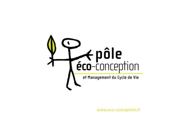 www.eco-conception.fr