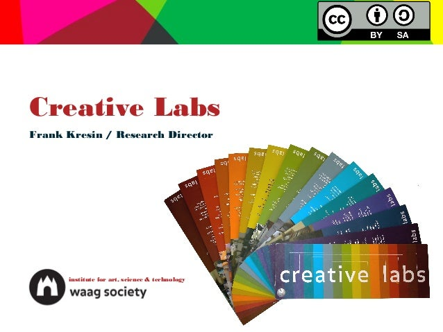 Creative LabsFrank Kresin / Research Director      institute for art, science & technology