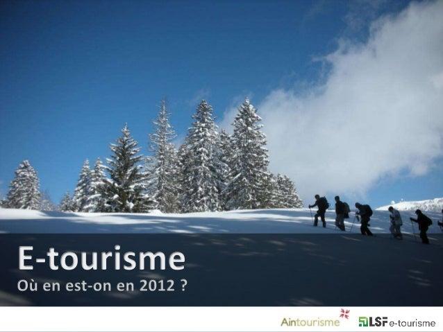 12 milliards d'eurosde chiffre d'affaires pour l'industrie du tourisme sur Internet en 2011                              s...