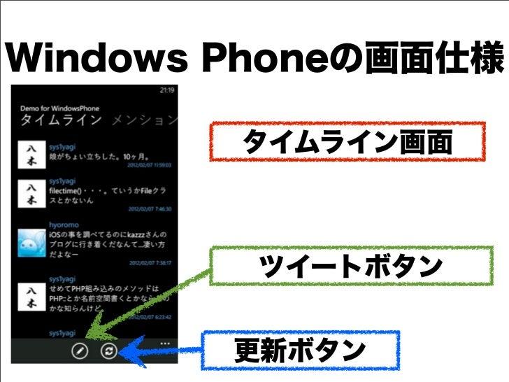 デブサミ2012【16-D-7】「iOS, Android, Windows Phoneアプリを同時開発せよ!!!」(後半)