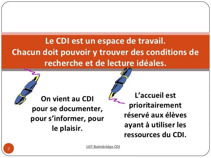 2012-2013 Bienvenue au cdi Slide 2