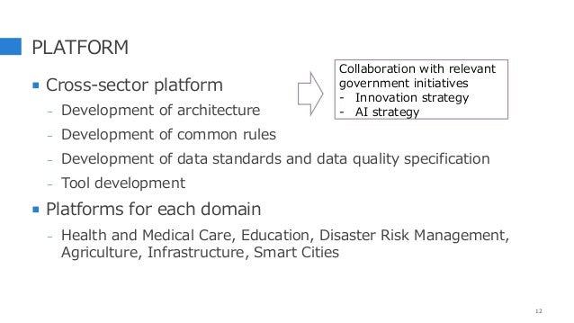 PLATFORM  Cross-sector platform - Development of architecture - Development of common rules - Development of data standar...