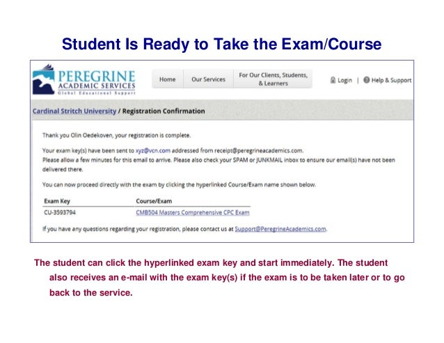 peregrine exam questions and answer for graduate