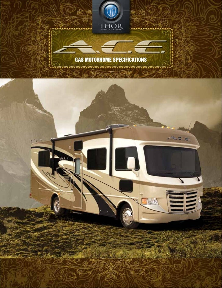GAS Motorhome Specifications