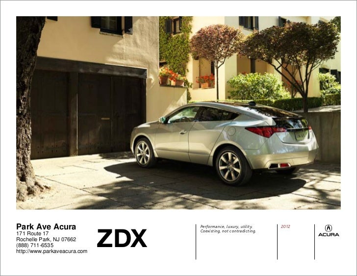Acura ZDX For Sale NJ Acura Dealer In New Jersey - Park ave acura parts