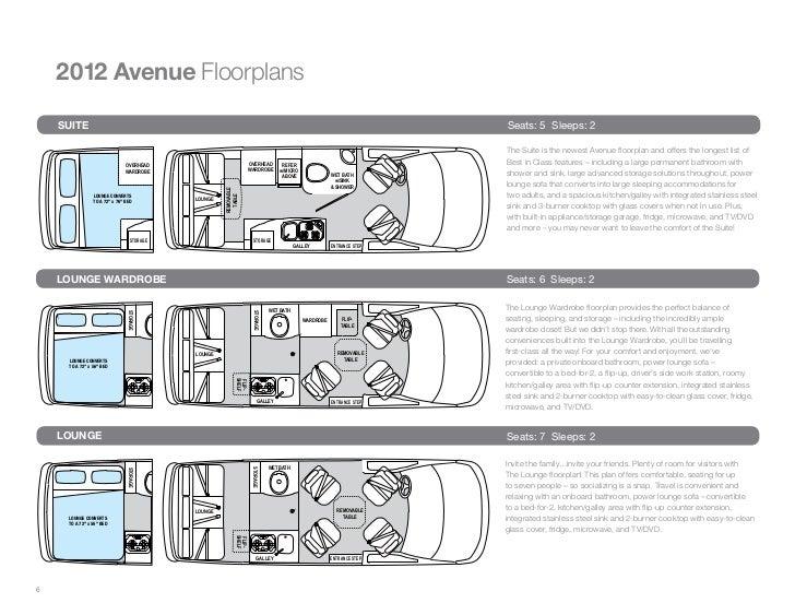 6 2012 Avenue Floorplans