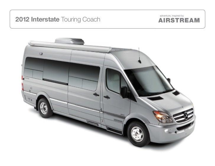 2012 Interstate Touring Coach
